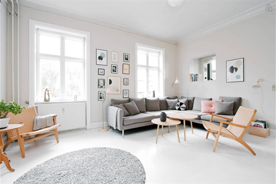 61 m2 andelsbolig i Charlottenlund til salg